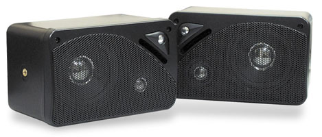 Pyle Pldg37 200 Watt Mini Box Speakers (Pyle Pldg37 200 Watt)