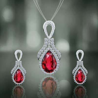 Buy diamond pendant sets from shiva gems and jewels delhi india diamond pendant sets 03 aloadofball Choice Image