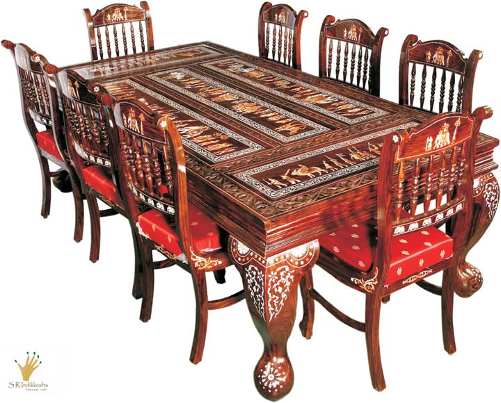 Royal Rosewood Dining Table Manufacturer Exporters From