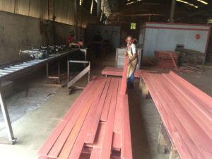 Imported Hardwood Lumber