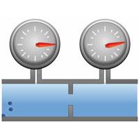 Gas Consumption Meter