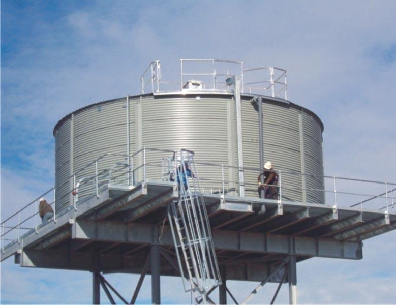 Prefabricated Water Tanks