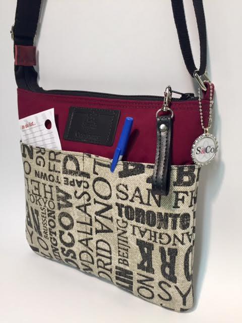 Original Sling Bag in Destinations Fabric