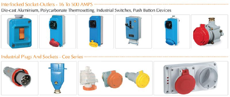 Industrial Plug Sockets and Rotary Devices