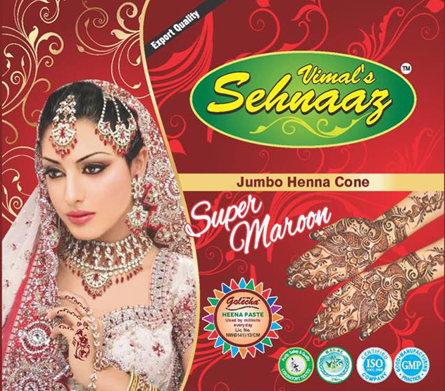 752305cd8 Jumbo Super Black Henna Cones Manufacturer & Exporters from, India ...