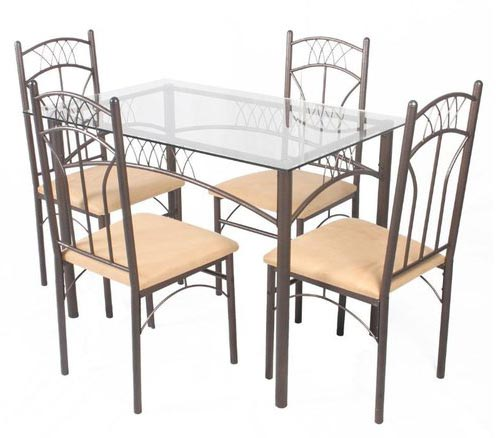 Steel Dining Table Set Manufacturer & Manufacturer from