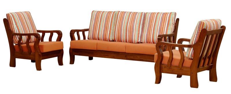 Wooden Sofa Set Manufacturer Exporters From Siliguri