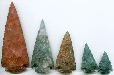 Agate Arrowheads