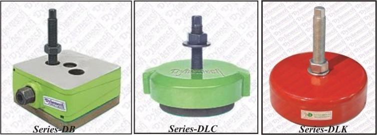 Anti Vibration Pads, Rubber Vibration Mountings