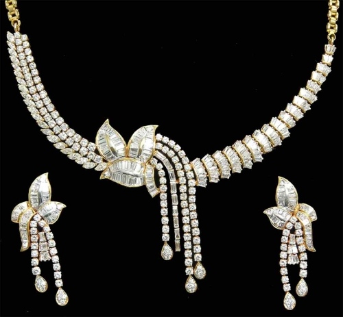 Buy Gold & Diamond Jewellery D012 from J p p Jewellers Kolkata
