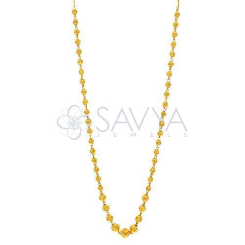 Gold Ball Kanthi Chains