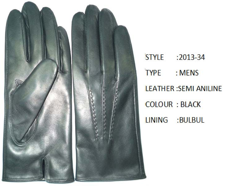 Fashion Leather Hand Gloves (101)
