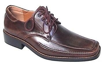 Men's Leather Shoes (Brown) (Men's Leather Shoes )