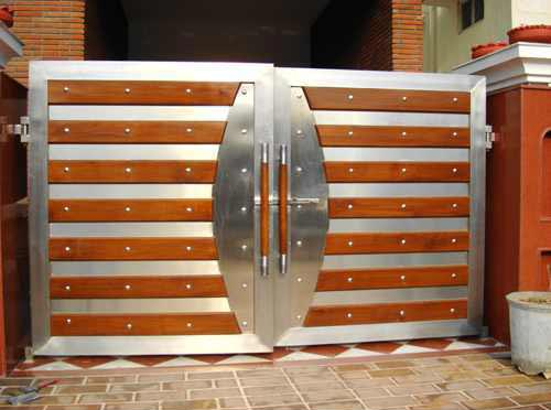 Stainless Steel Main Gate 02  Stainless Steel Main. Stainless Steel Main Gate 02 Manufacturer   Manufacturer from New