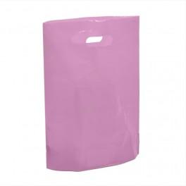 Pink Premium Plastic Carrier Bags