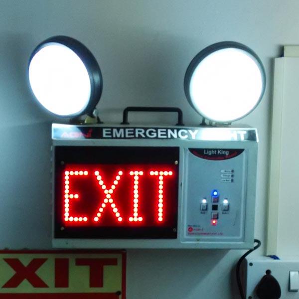 Emergency Exit Lights Manufacturer & Manufacturer From
