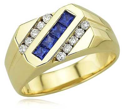 Buy Gents Gold Ring from Shri Sai Shakti Jewellers New Delhi