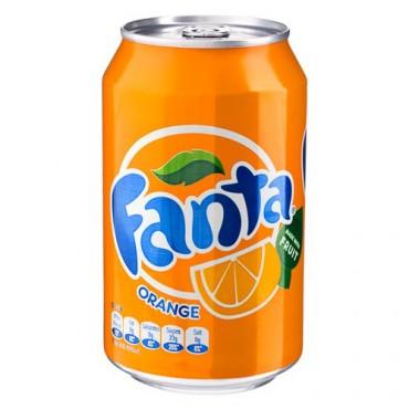 12 Cans Fanta Orange Pack
