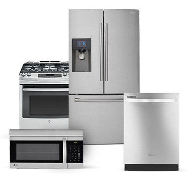 SAMSUNG APPLIANCE PACKAGE - 4 PIECE APPLIANCE PACKAGE WITH GAS RANGE STAINLESS STEEL