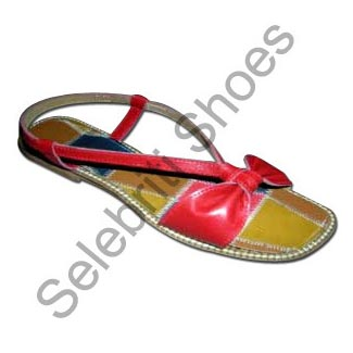 6c5e8a99d Ladies Leather Patchwork Sandals Manufacturer   Manufacturer from ...