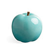 decorative aqua glazed fruit (apple)