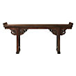 """86"""" ALTAR TABLE IN BROWN"""