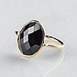 6 ADIRA BLACK ONYX RING