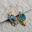AFTER MIDNIGHT LABRADORITE EARRINGS