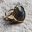 6 AFTER MIDNIGHT LABRADORITE RING
