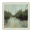 "ALASKAN LAKE 45"" X 45"" FRAMED PRINT 3"