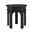 """ALLEGRO 24"""" END TABLE IN RUBBED NOIR"""