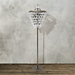 ANABELLA FLOOR LAMP IN NICKEL