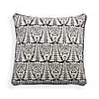 ARISTO BLACK DORI SQUARE PILLOW
