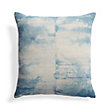 BATIK CLOUD BLUE SQUARE PILLOW