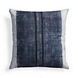 BATIK LINEAR BLUE SQUARE PILLOW