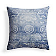 BATIK MOTIF BLUE SQUARE PILLOW