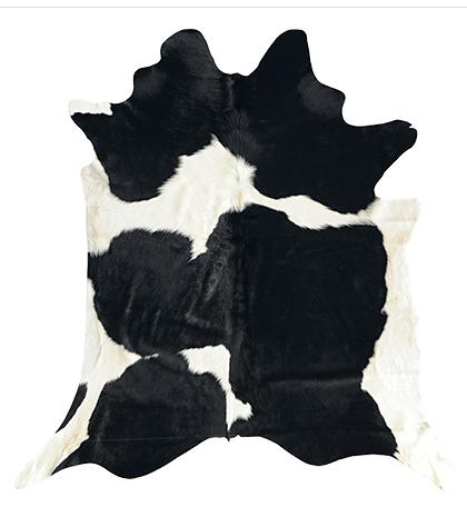 BLACK WHITE animal hides