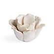 BLOSSOM TEALIGHT HOLDER IN CREAM