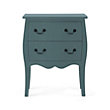 Bombay Small 2 Drawer Chest In Bay Green