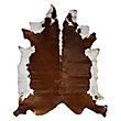 BROWN WHITE animal hides
