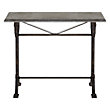 "BUCHON 40"" RECTANGLE CONSOLE TABLE WITH IRON BASE"