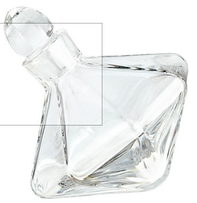CATARINA SIDE CRYSTAL DECANTER
