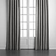 CLASSIC LINEN DRAPE IN CHARCOAL