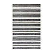 COLLINS ,OUTDOOR RUG IN CHARCOAL STRIPE