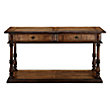 CONSOLE TABLE IN OAK