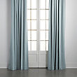 COTTON SATEEN DRAPE IN SLATE