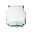 DIANTHA SHORT GLASS VASE 25