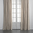 "DUPIONI SILK DRAPE IN DRIFT - 50"" X 84"""