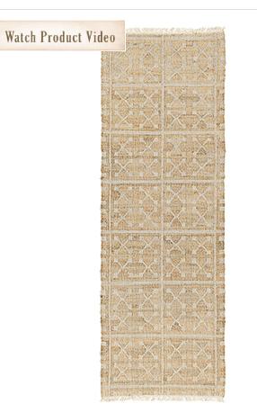 Handwoven ELIANE rug