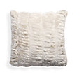 FAUX FUR LUXE IVORY EURO SHAM PILLOW